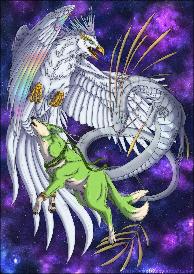The Three Spirits by WhitePhoenix7