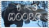 Moose Stamp by PhantomComet