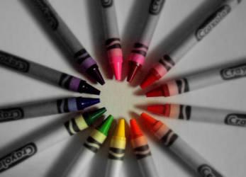 Crayons . . . by PhantomComet