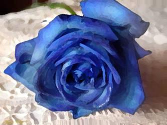 Blue Rose. . . by PhantomComet