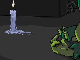 RaphxLeo by Candlelight by iceicefangurl