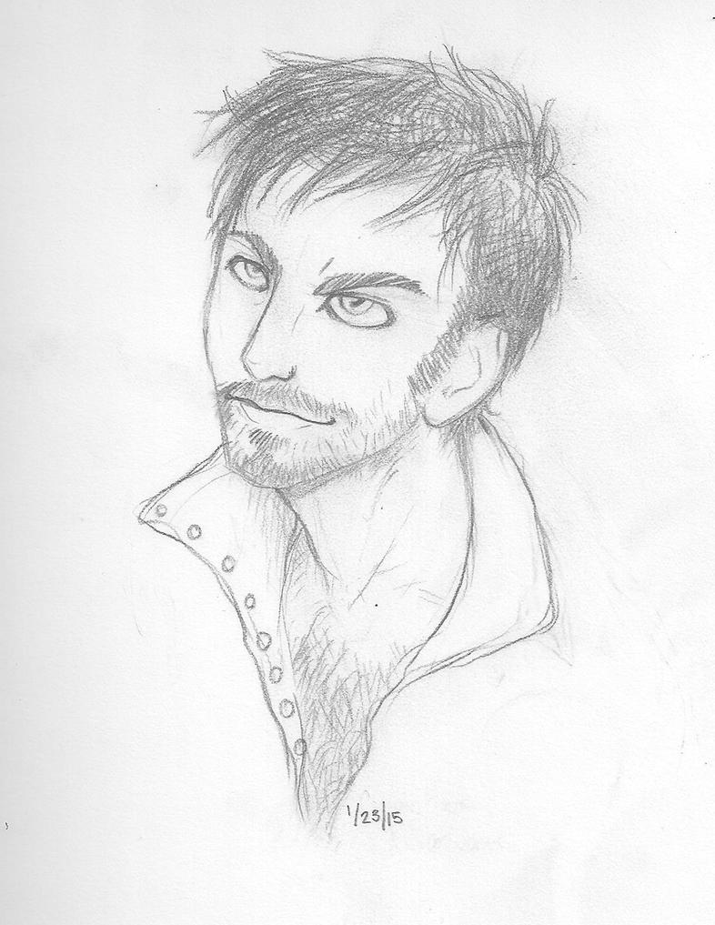 OUaT Hook Sketch by iceicefangurl