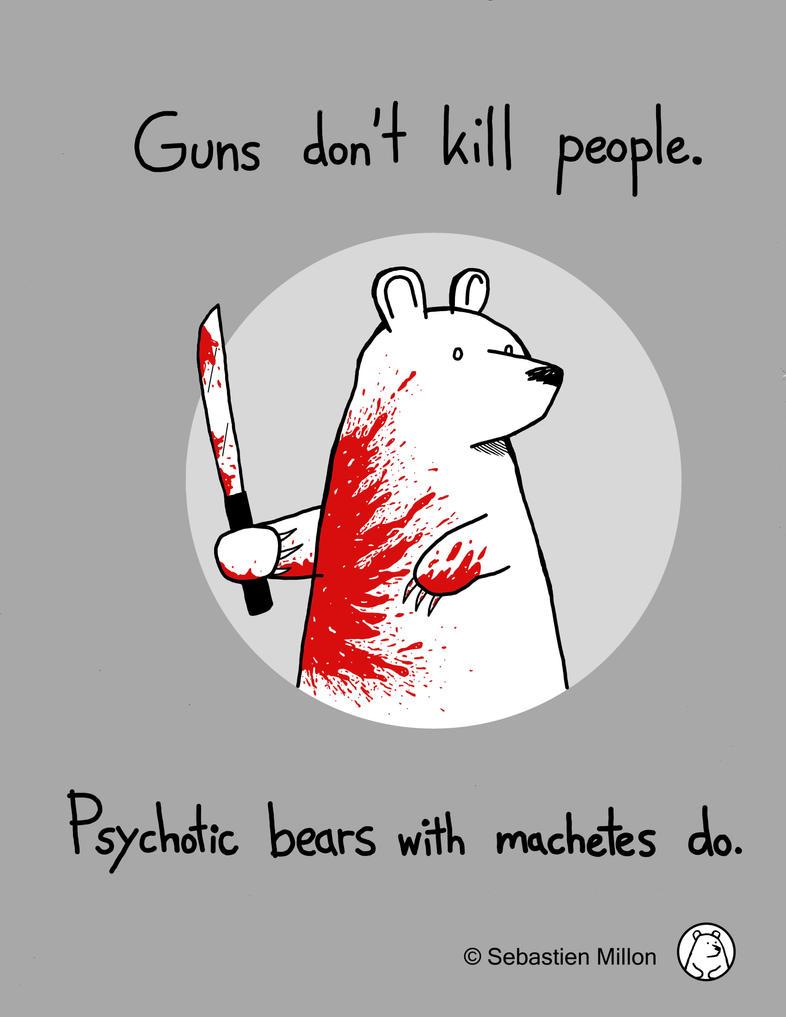 Machete Bear. by sebreg