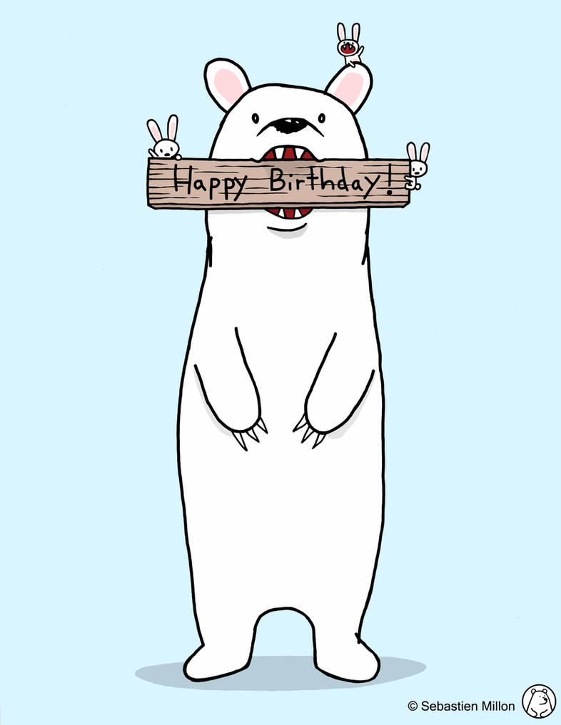 Happy Birthday Card Design by sebreg on DeviantArt – Cool Happy Birthday Cards