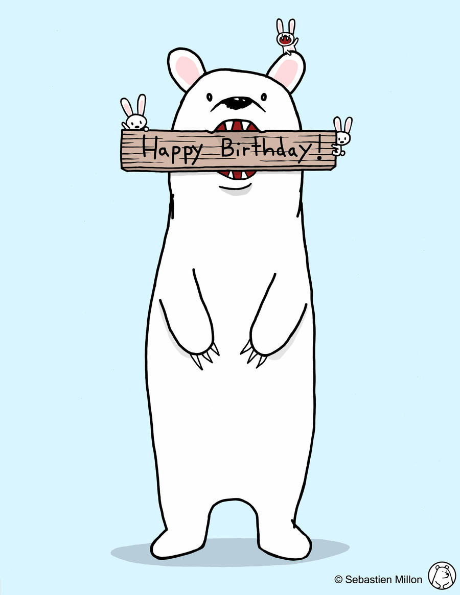 Happy Birthday Card Design by sebreg on DeviantArt