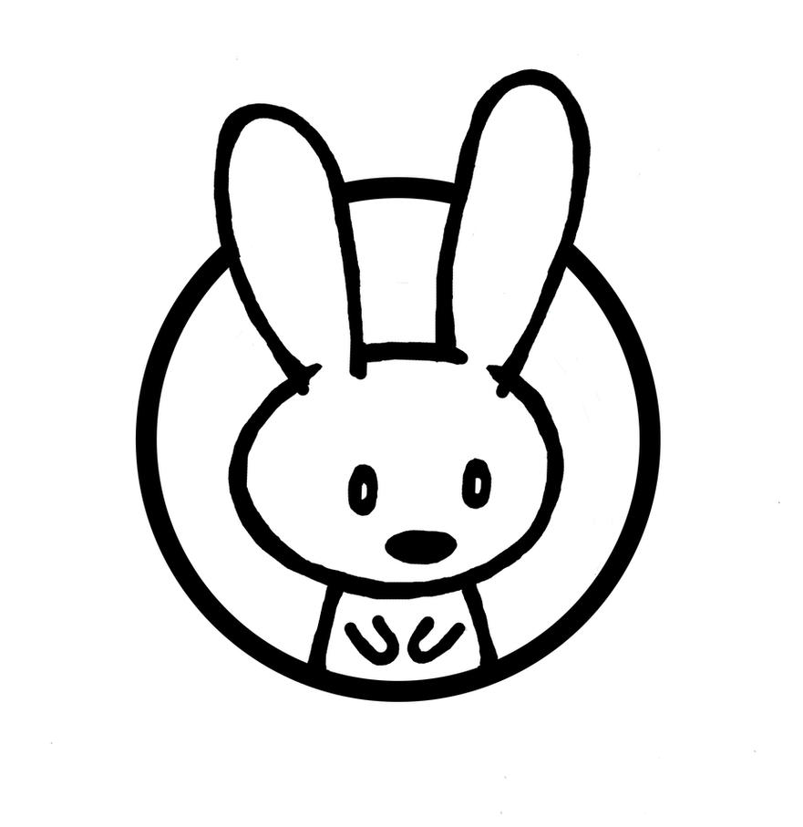 Rabbit logo by sebreg on deviantart for Draw logo free