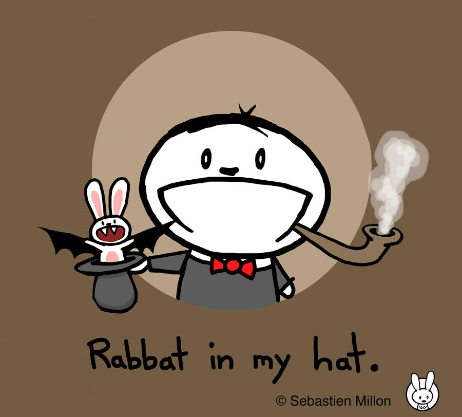 Rabbat in my Hat by sebreg