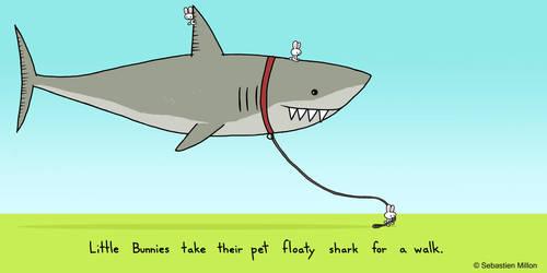 Pet Floaty Shark