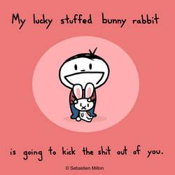 Lucky Stuffed Bunny
