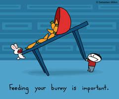 Feed Your Bunny by sebreg