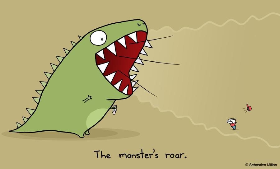 The Monster's Roar by sebreg
