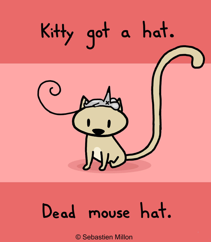 Dead Mouse Hat by sebreg