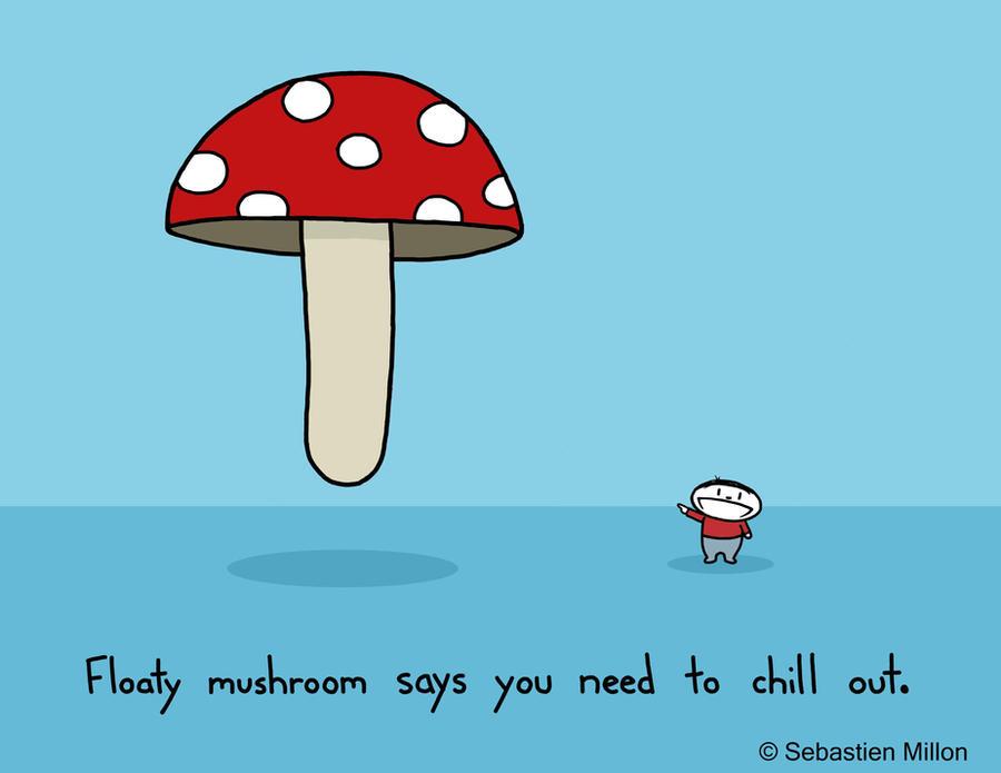 Floaty Mushroom by sebreg