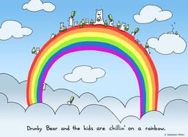 Chillin on a Rainbow by sebreg