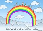 Chillin on a Rainbow