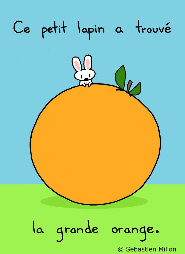 La Grande Orange by sebreg