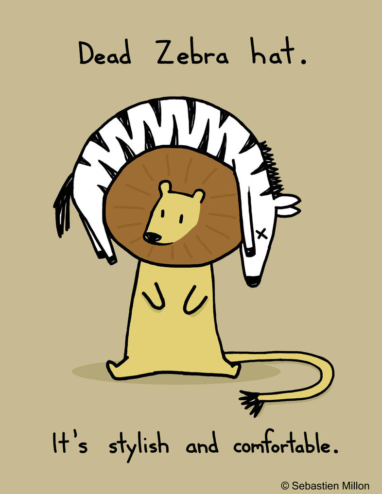 Dead Zebra Hat by sebreg