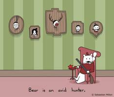 Bear Likes to Hunt by sebreg