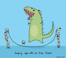 Jump Roping by sebreg