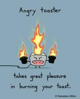 Angry Toaster by sebreg