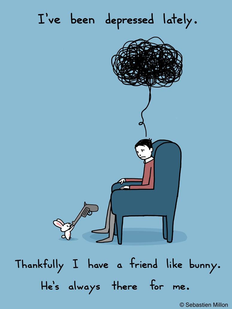 A Friend Like Bunny by sebreg