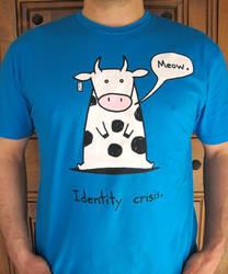 Identity Crisis Cow Tshirt