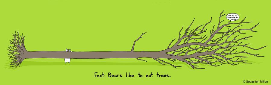 Trees are Tasty by sebreg