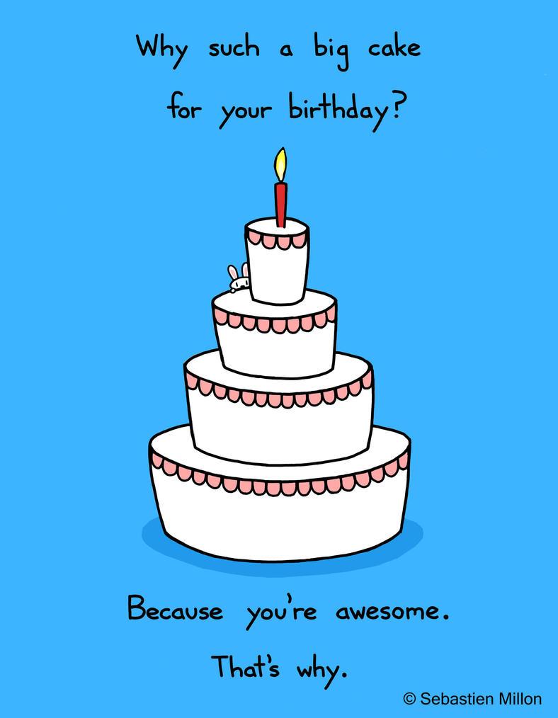 Happy Birthday Cake by sebreg
