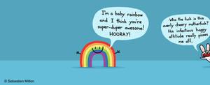 Baby Rainbow and Bunny