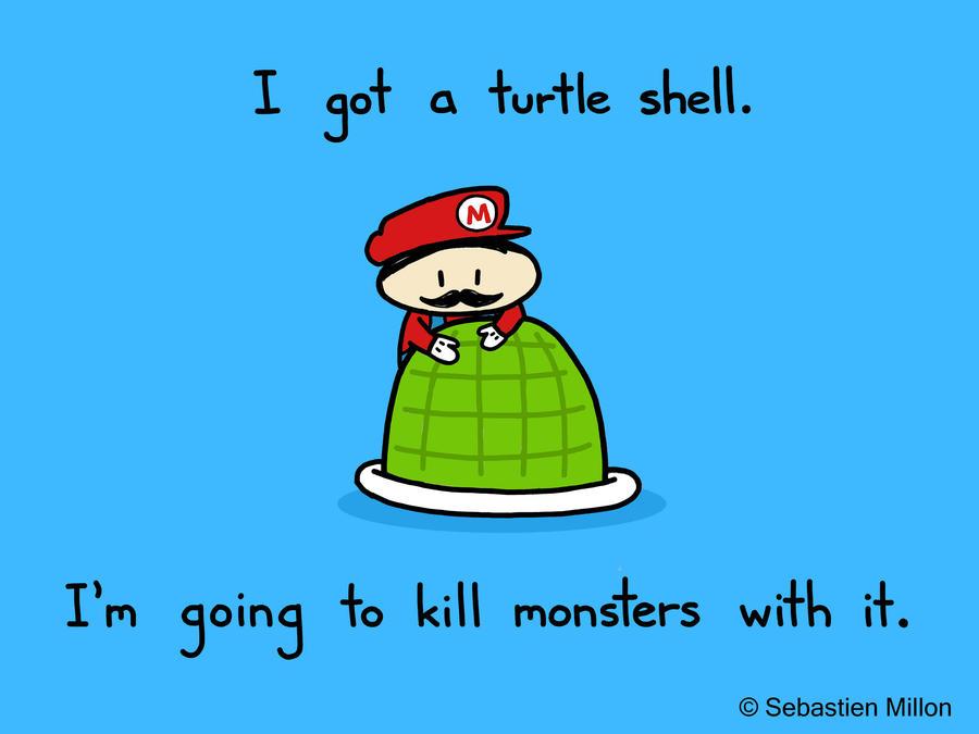Super Mario by sebreg
