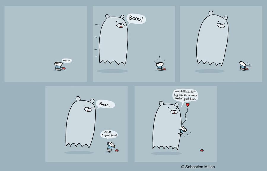 Ghost Bear by sebreg