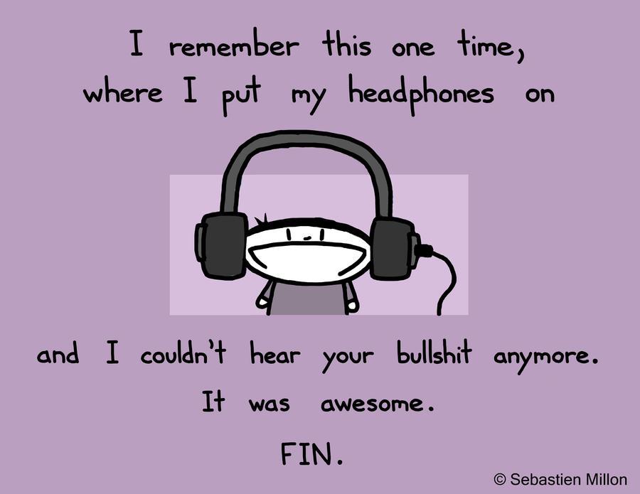 Headphones by sebreg