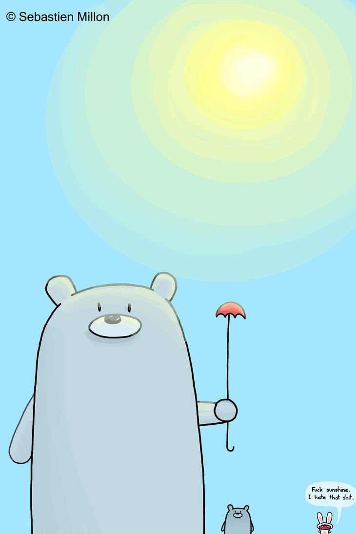 It Was a Beary Sunny Day by sebreg
