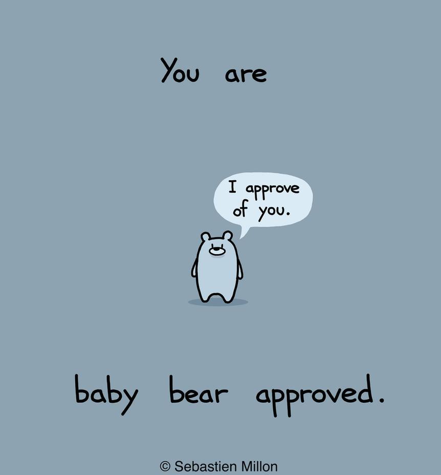 Baby Bear Approved by sebreg