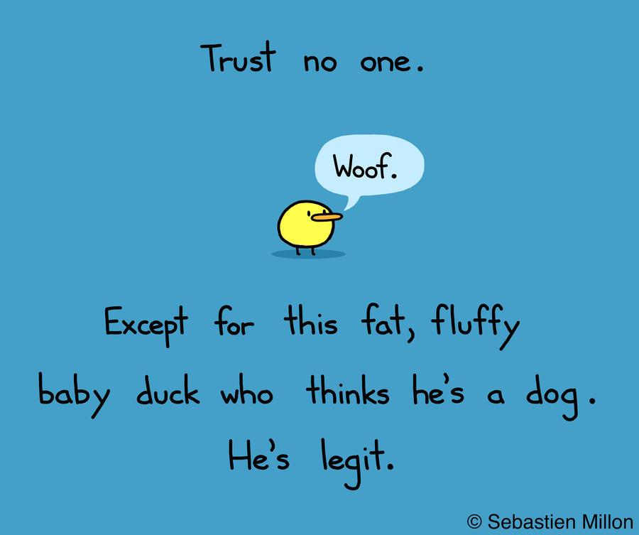 Trust No One by sebreg