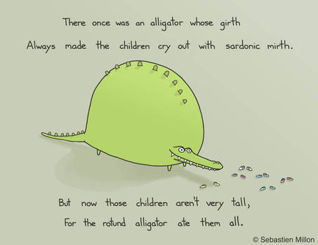 The Rotund Alligator
