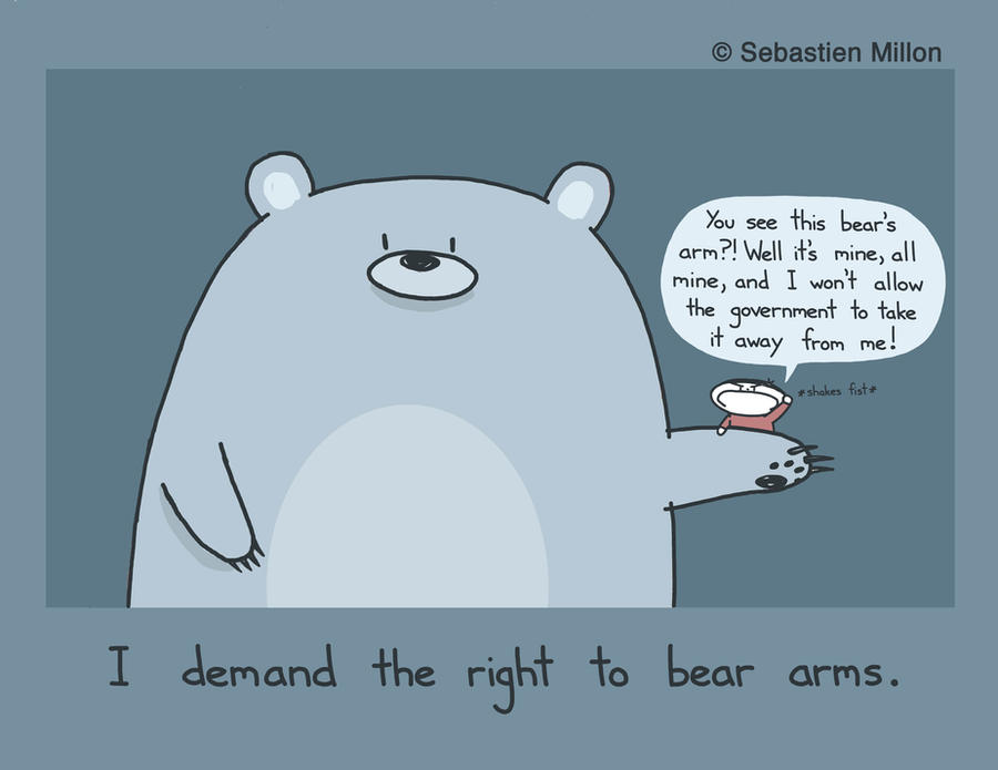 The Right to Bear Arms by sebreg