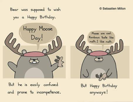Happy Moose Day