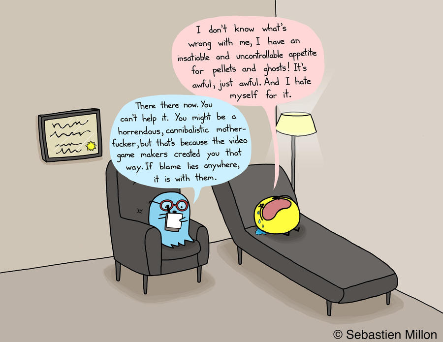 Pacman Therapy by sebreg