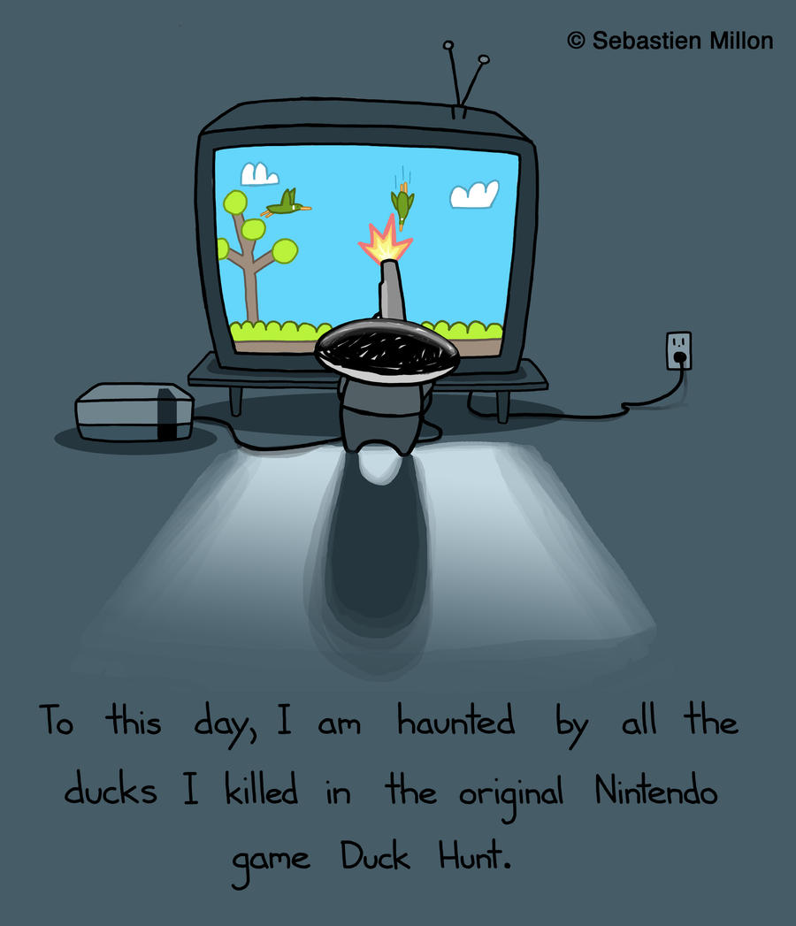 Duck Hunt by sebreg