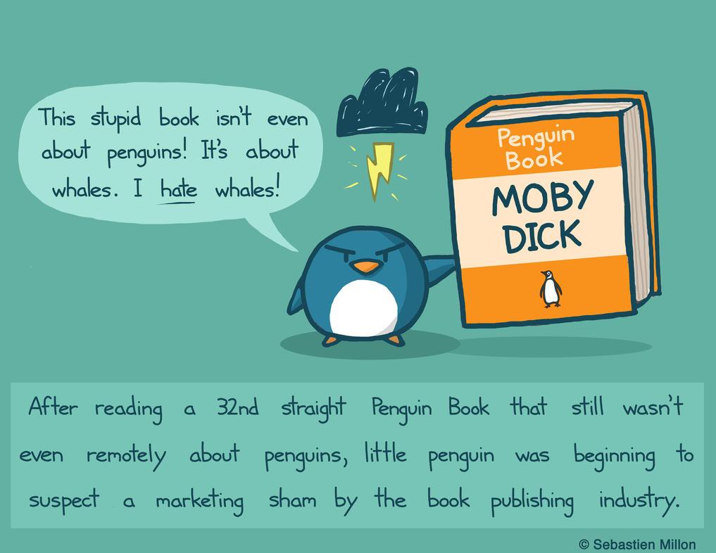 Penguin Book by sebreg