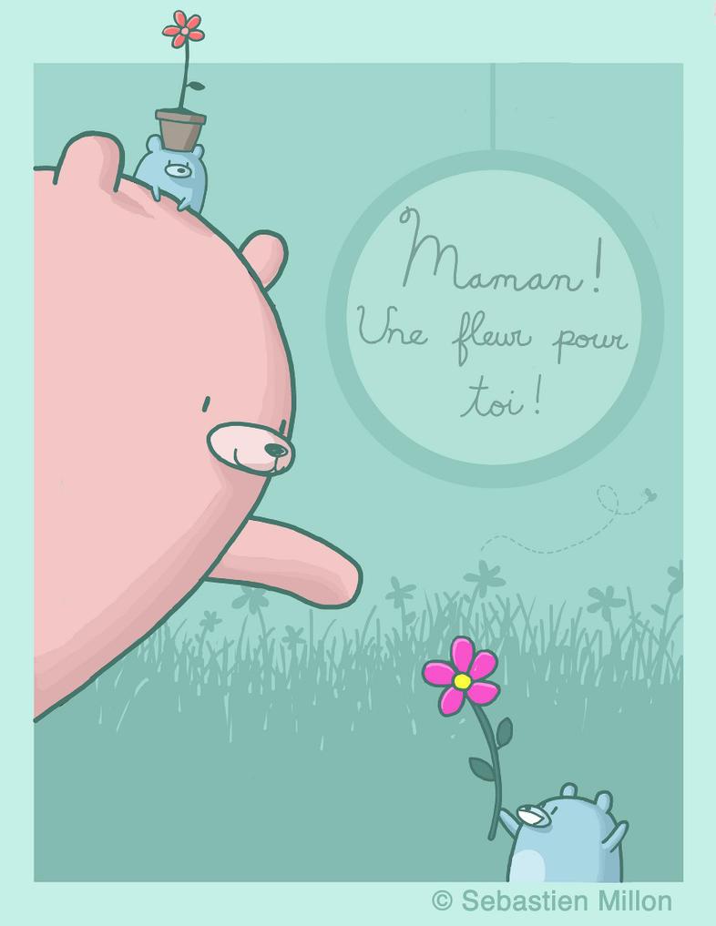 Flower For Mom by sebreg