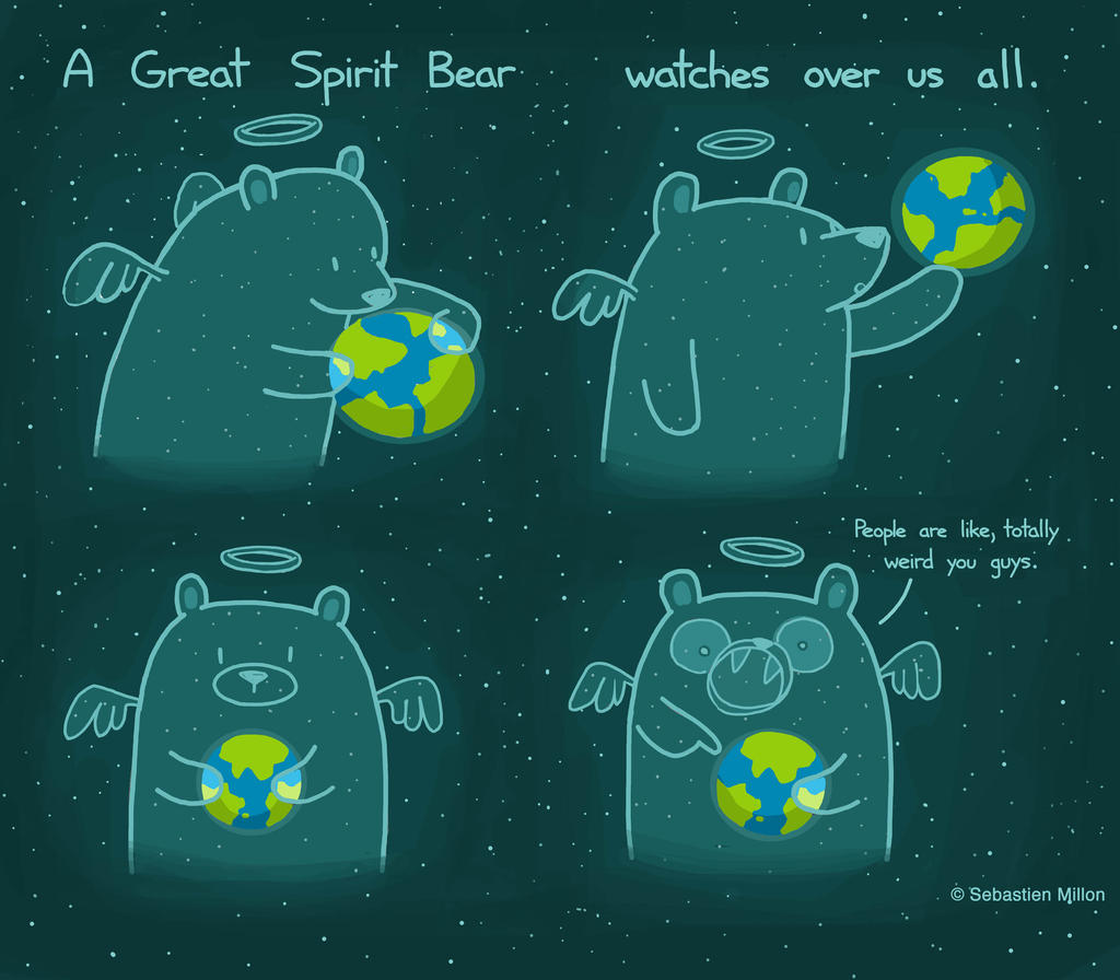 The Great Spirit Bear by sebreg