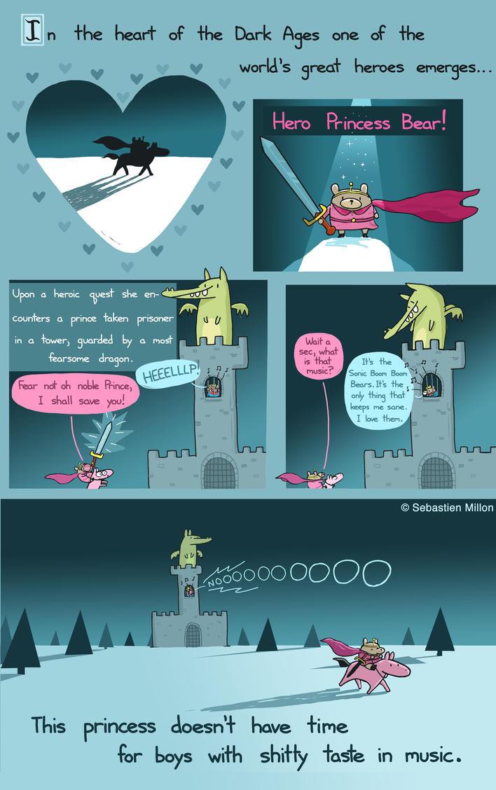 Hero Princess Bear by sebreg