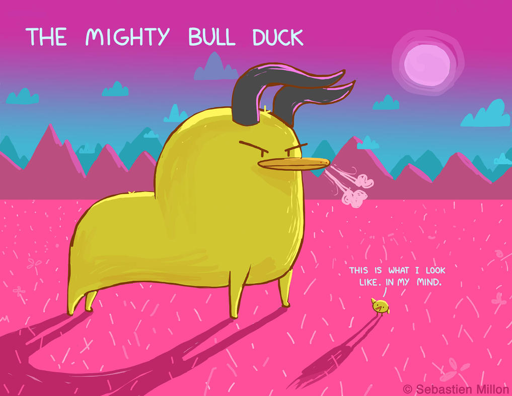 The Mighty Bull Duck by sebreg