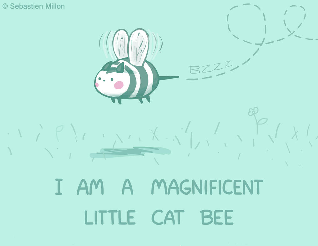 Little Cat Bee by sebreg