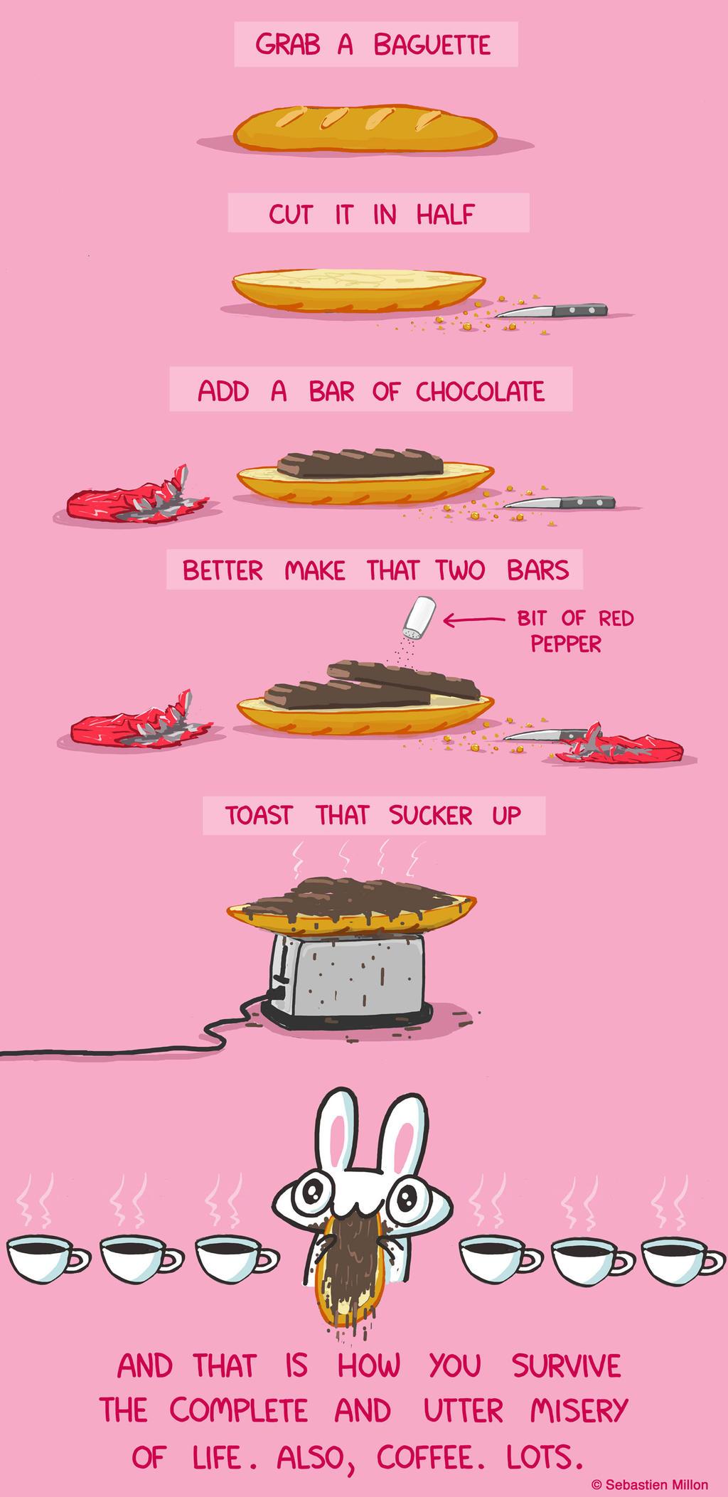 Survival Snack by sebreg