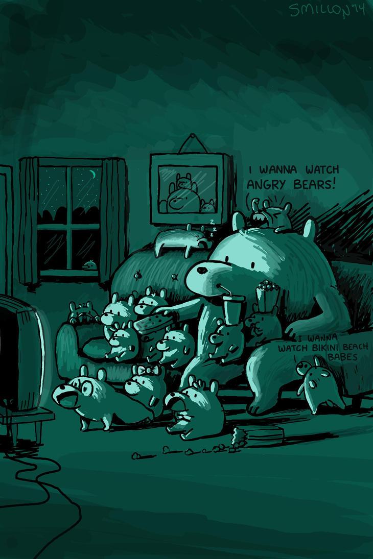Family Night by sebreg