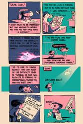 Dear God Comic by sebreg