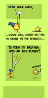 Dear Duck Gods
